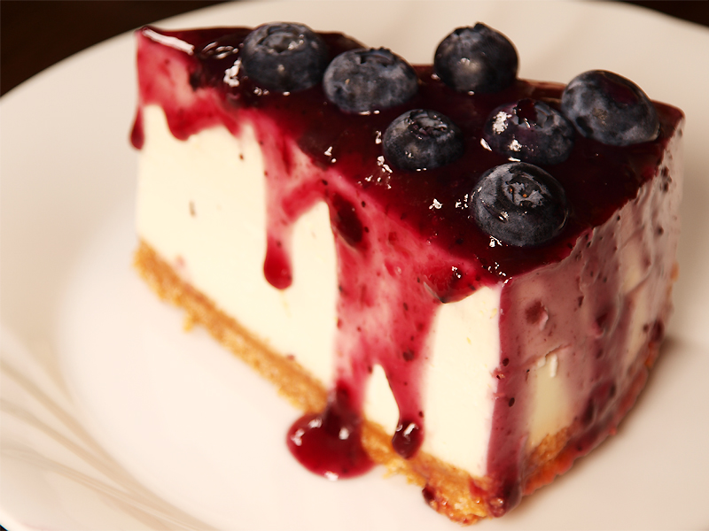 Blueberry Cheesecake Ang Sarap