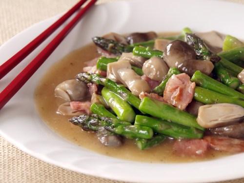 Asparagus Mushroom Stir Fry America S Test Kitchen