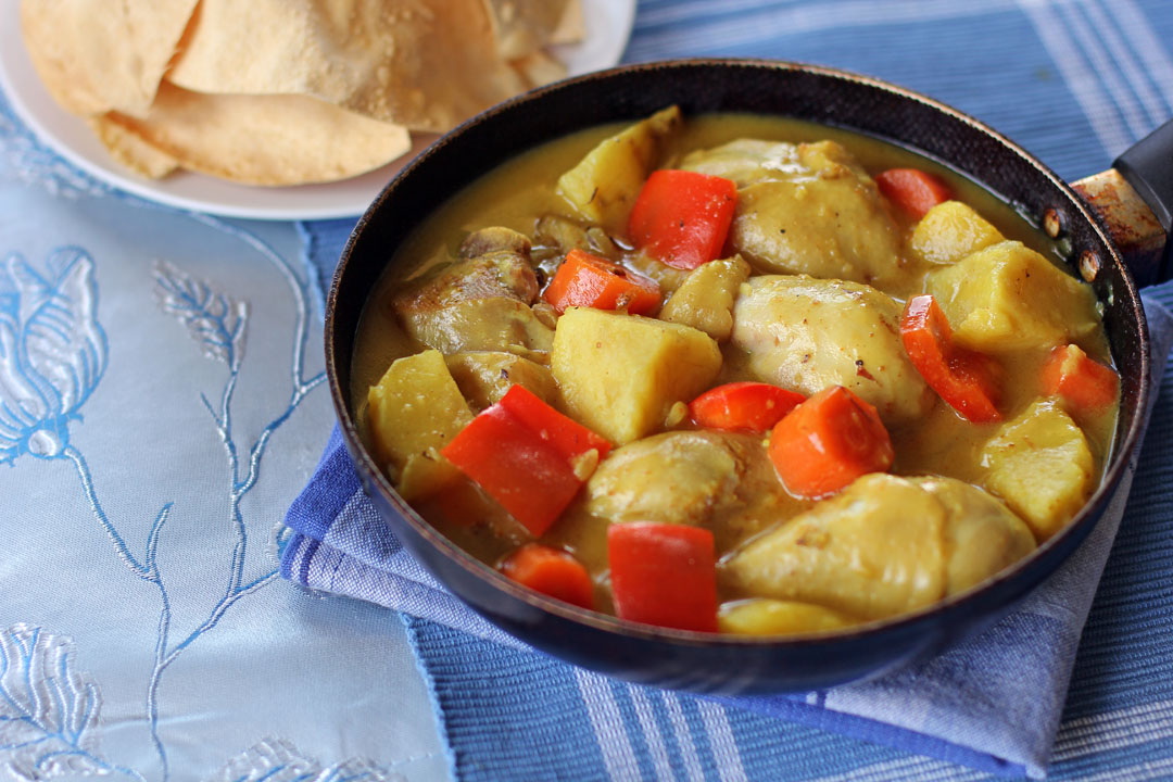 Filipino style chicken curry ang sarap forumfinder Gallery