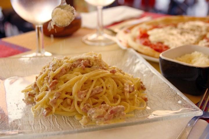 Italy Carbonara