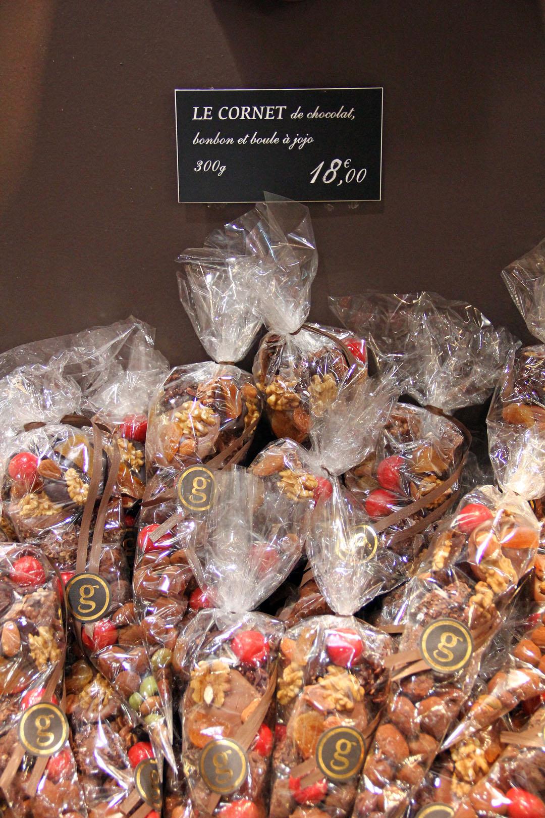 Chocolatier In Paris Near Hotel De Ville
