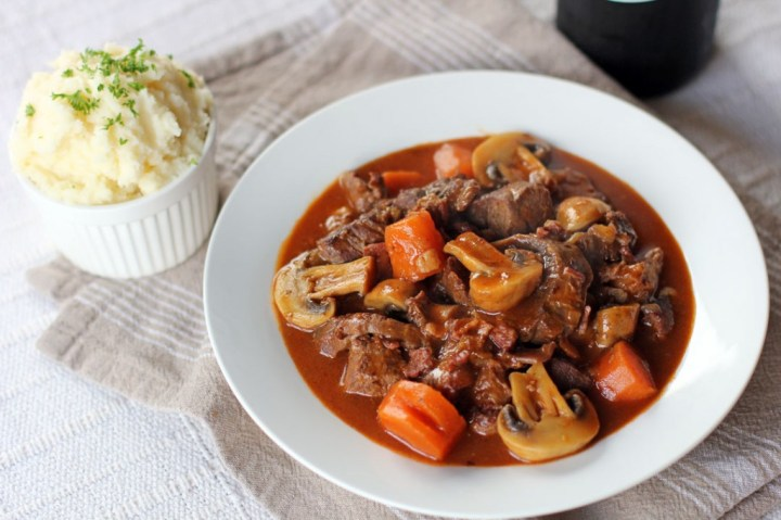 Beef Bourguignon Wide