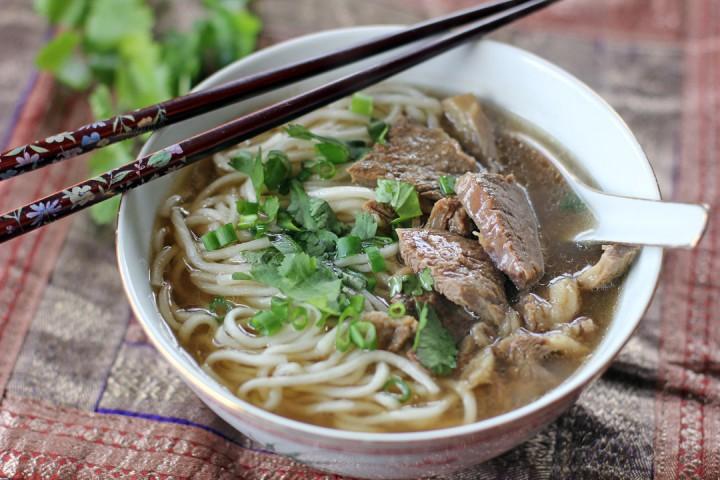 Beef Noodle Soup Wide