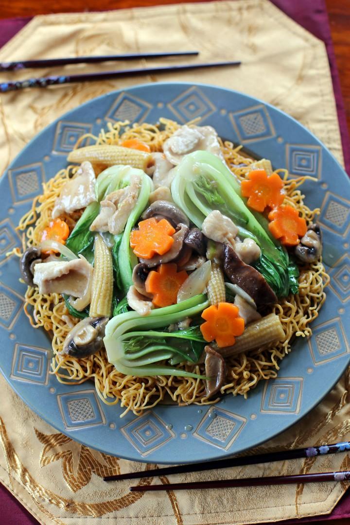 Chow Mein Crispy Noodles