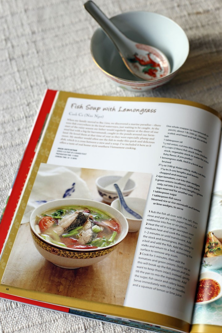 Fish Soup with Lemongrass Book