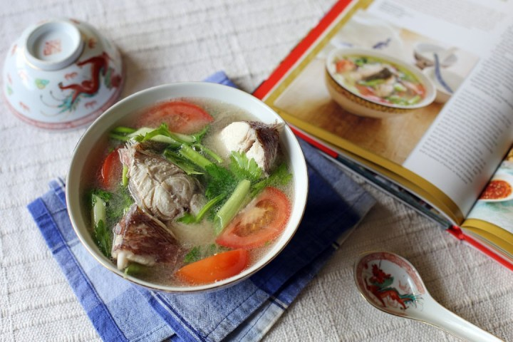 Fish Soup with Lemongrass Wide