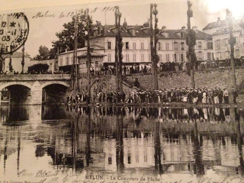 concours de pêche en 1907