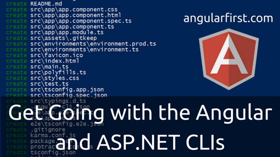 Angular and ASP.NET CLIs Header