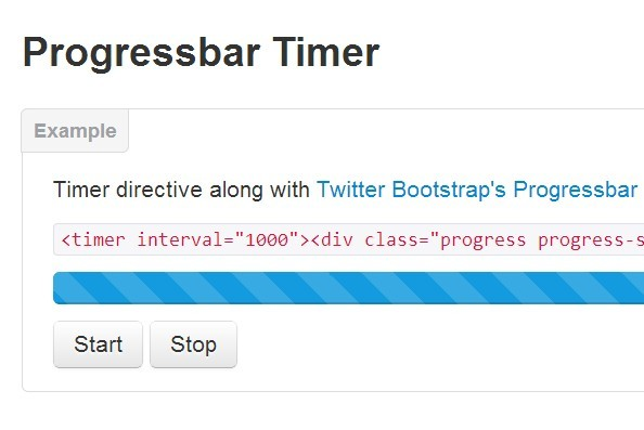 Progressbar Timer