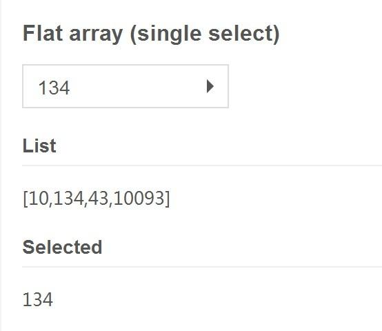 angular-selectbox flat array