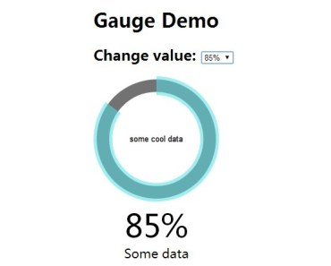 Nice and Simple Gauge Chart