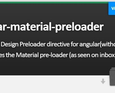 Google Inbox Style Preloader dDirective For Angular
