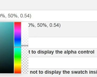 Multi-format Color Picker Directive For AngularJS