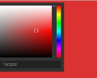Simple Native AngularJS Color Picker