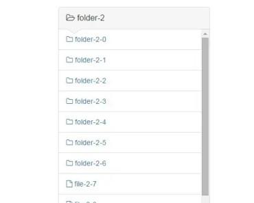 Vertical File Folder Tree For AngularJS