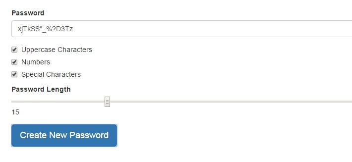 Strong Password Generator with Pure AngularJS