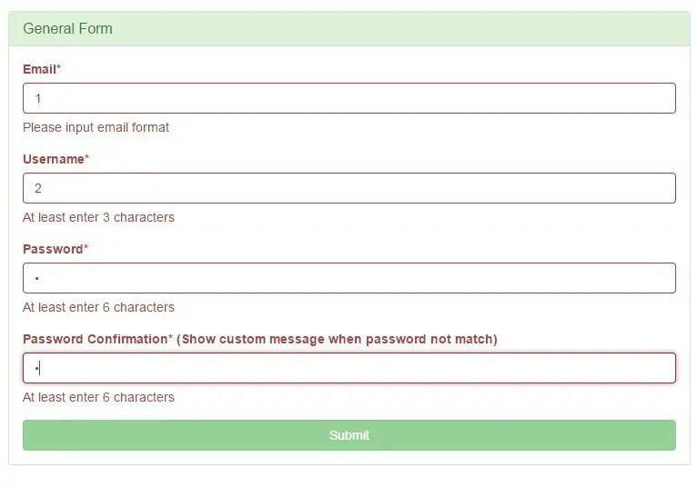 Angular Bootstrap Form Group Directive Basic Demo