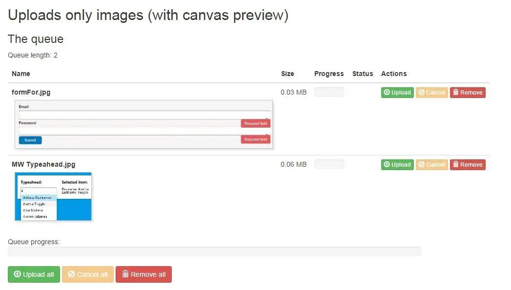 Angular File Upload Module For AngularJS | Angular Script