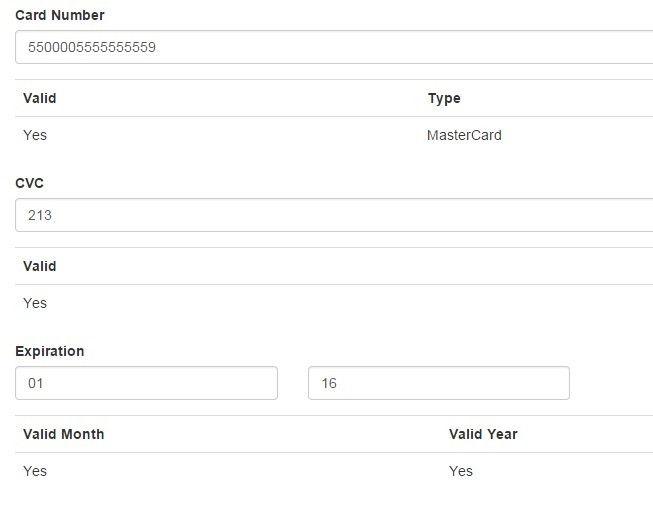 Angularjs Form For Payments with Nodejs and Express