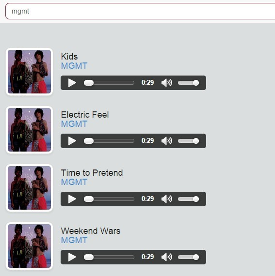 An iTunes and Last.fm Search Implementation Using Angular JS