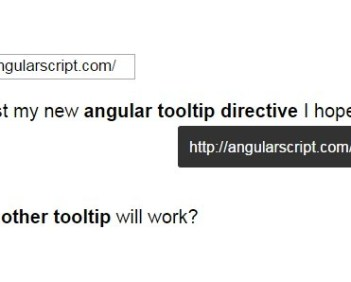 Simple Tooltip Control For Angular 2 - ng2-tooltip   Angular