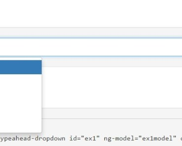 AngularJS Typeahead Dropdown Directive