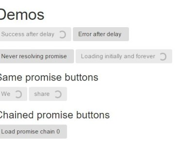 Chilled Buttons for AngularJS - Promise Buttons
