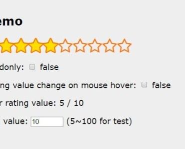 Simple Star Rating Directive For AngularJS