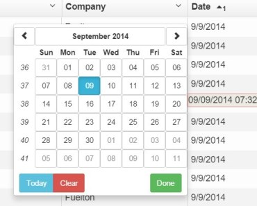 Angular Directive For Adding Bootstrap Datepicker To UI Grid