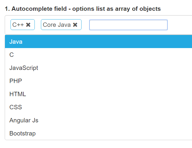 Angularjs Directive For Multiple Select Autocomplete