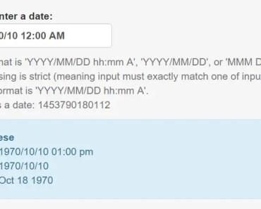 Angular Date Time Input Directive