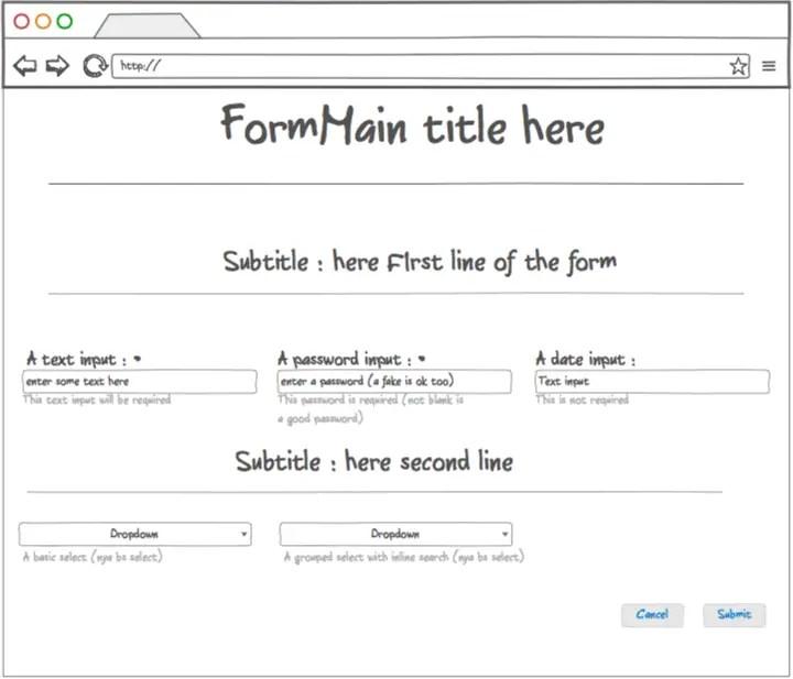 Form Script Easy Angular Generator