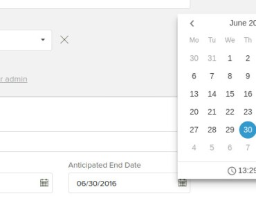 AngularJS Calendar Based On dhtmlxCalendar