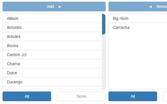 Drag'n'drop Dual Listbox Control For Angular 2