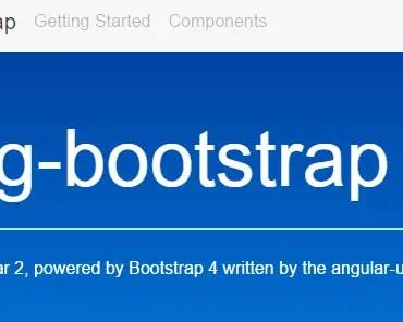 NG Bootstrap