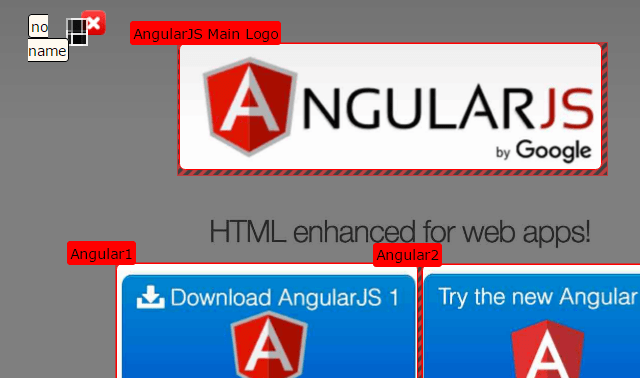 Angular Image Areas Directive