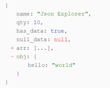 Simple JSON Explorer For Angular