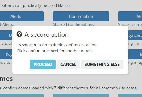 Angular-confirm Confirm Dialog
