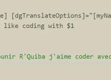 Angular 2 Translation Module