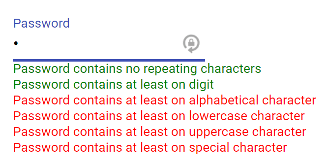 Simple Validators For Angular 2