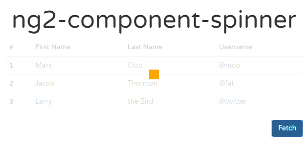 Customizable Spinner For Angular 2+ Component