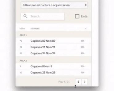 Angular Elastic DataTable Component