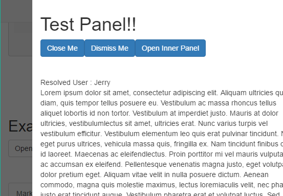 Angular Slideout Panel