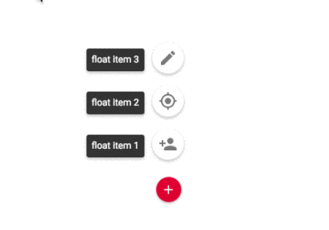 Material Design Float Button For Angular 4+ | Angular Script