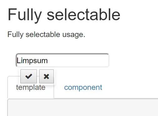 Angular 4 Click To Edit Component