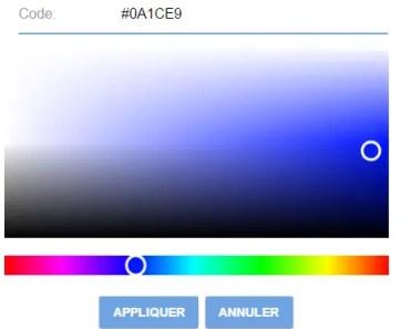 Simple Angular Color Picker
