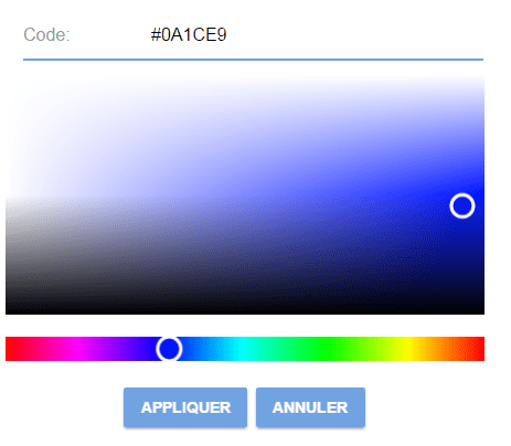 Simple Angular Color Picker