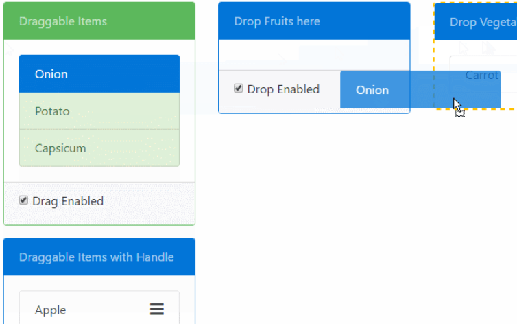 Easy HTML5 Drag And Drop Library For Angular | Angular Script