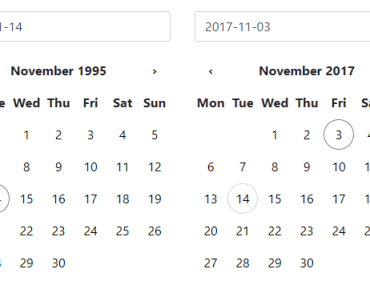 Skimmed Datepicker Component For Angular
