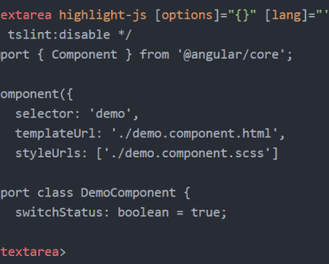 ngx-highlight-js